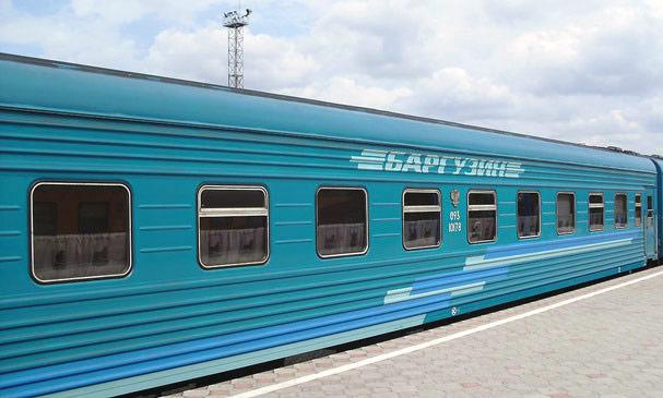 """Поезд """"Баргузин"""" Забайкальск-Иркутск-Забайкальск"""