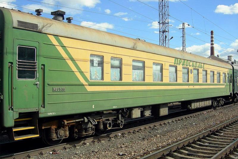 """Фирменный поезд """"Приосколье"""" Старый Оскол-Москва"""