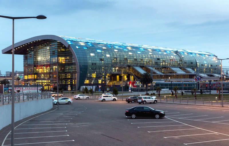 Железнодорожный вокзал Адлер