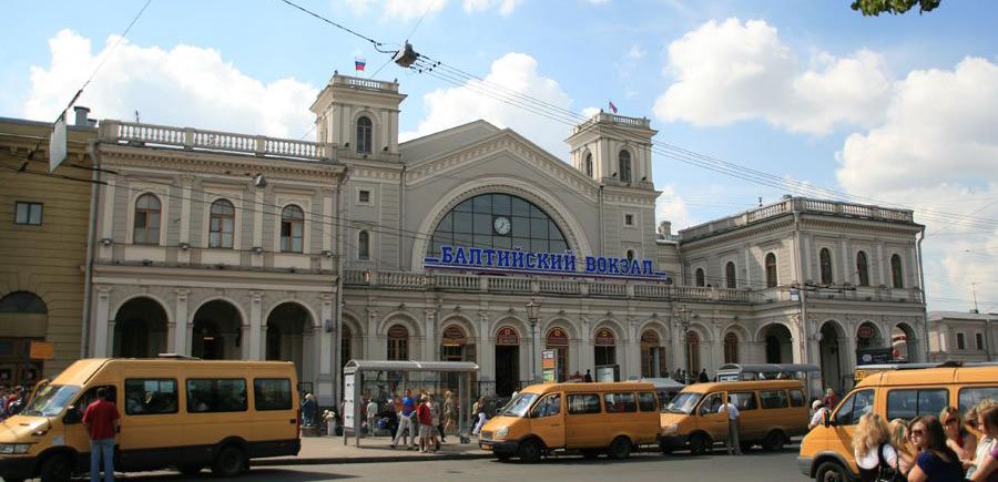 Балтийский ЖД вокзал Санкт-Петербурга