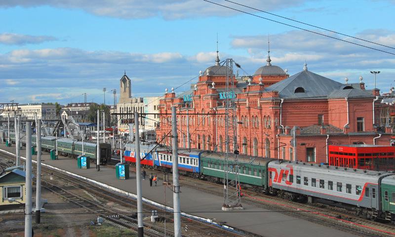 Железнодорожный вокзал Казань