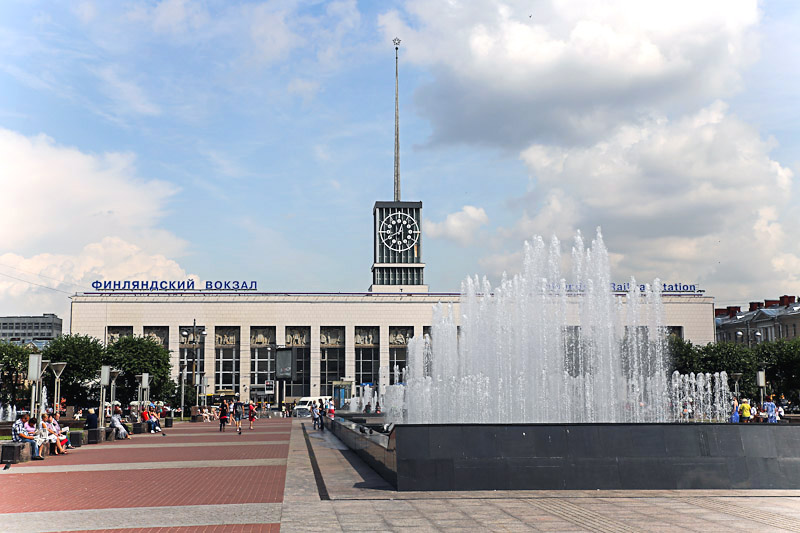 Финляндский ЖД вокзал Санкт-Петербурга