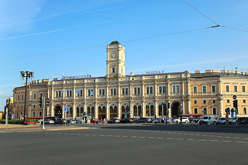 Московский ЖД вокзал Санкт-Петербурга