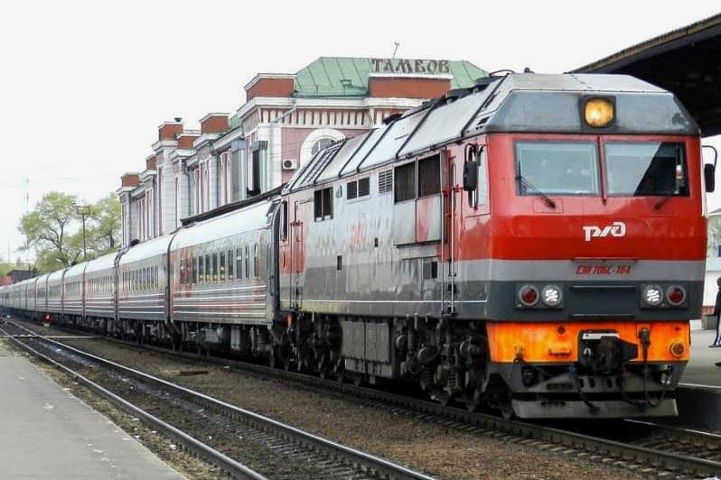 Фирменный поезд 31 Тамбов-Москва