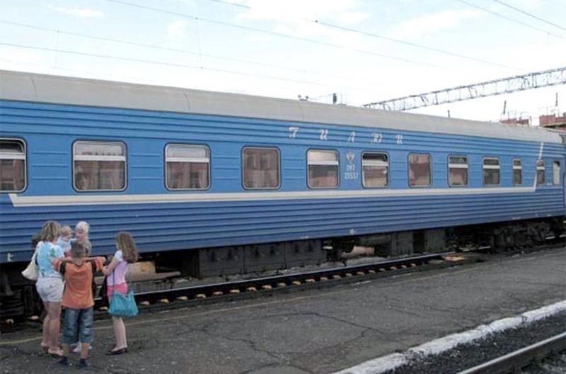 """Фирменный поезд 81 """"Гилюй"""" Благовещенск-Тында"""