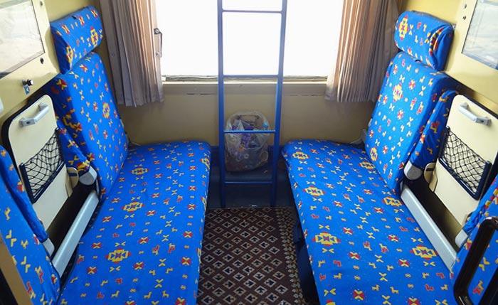 Купе со спальными местами поезда Polour Sabz