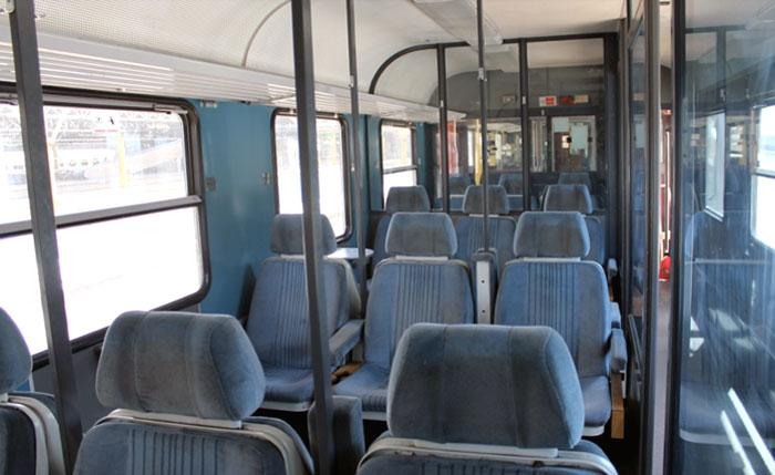 Фото поезда Regional внутри