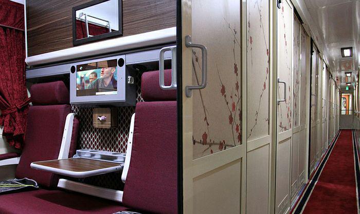 Купейный вагон фирменного поезда Zendeghi