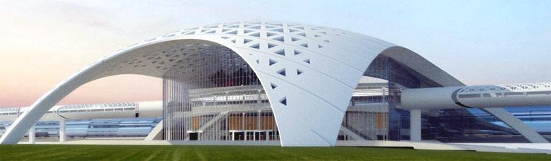 Проект здания вокзала ТПУ ВСМ Москва-Казань
