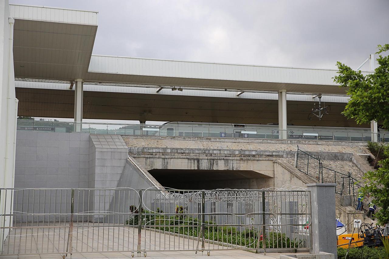 Платформа ЖД станции Ялонгван