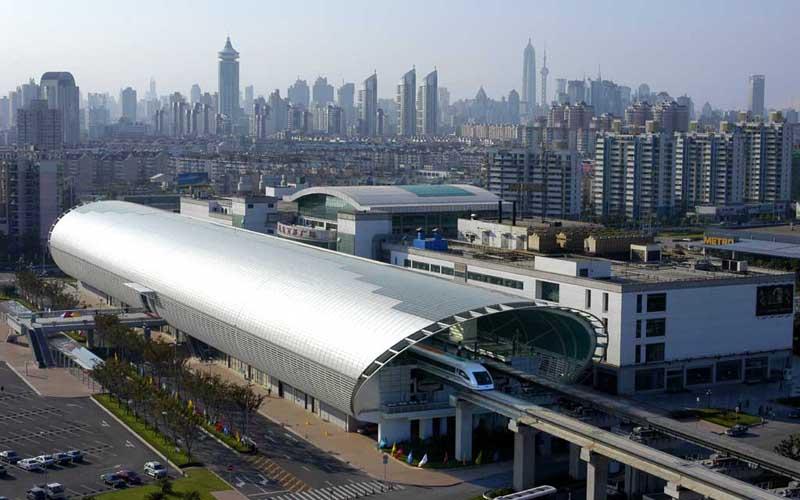 Cтанция Лунъян в Шанхае