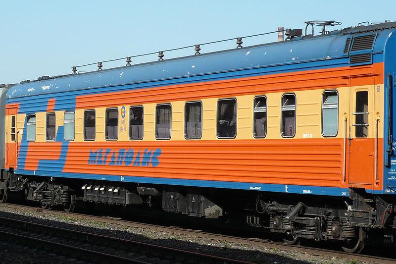 """Поезд """"Мегаполис"""" Санкт-Петербург - Москва"""