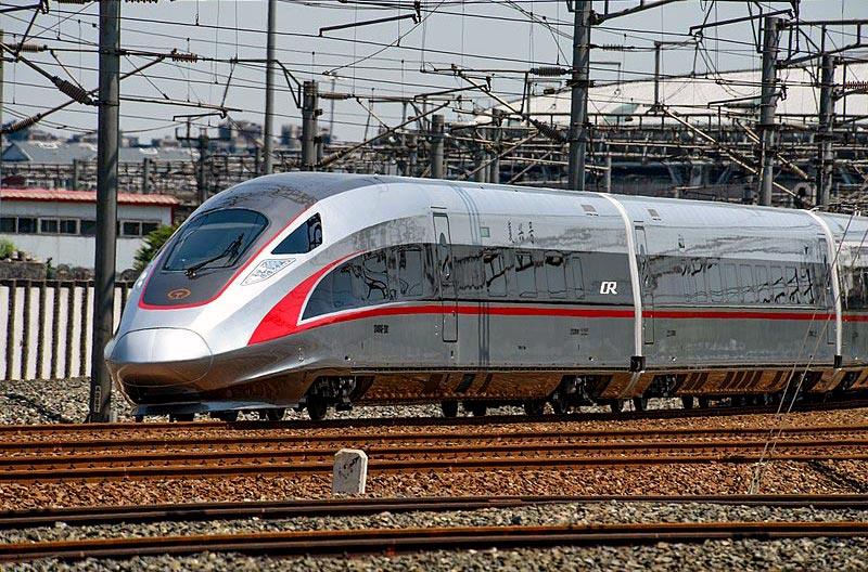 Новейший китайский высокоскоростной поезд CR400AF
