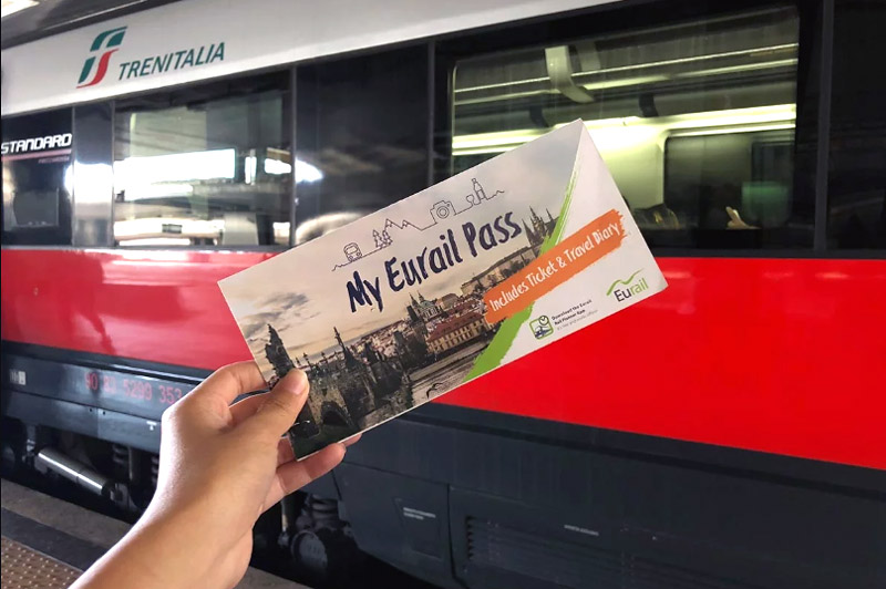 Проездной Eurail pass на поезда Италии