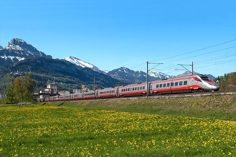 Популярные поезда в Италии - маршруты и билеты