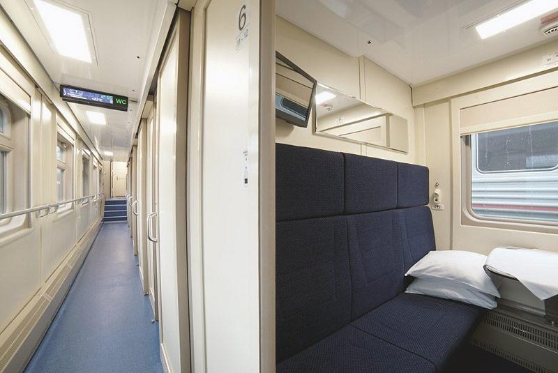 Фото спального вагона поезда 28 Москва-Симферополь