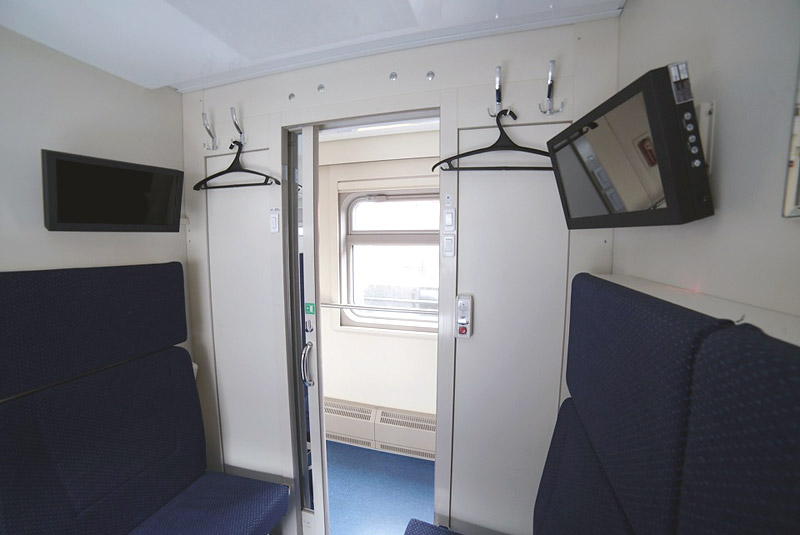 Фото внутри СВ-вагона поезда 28 Москва-Симферополь