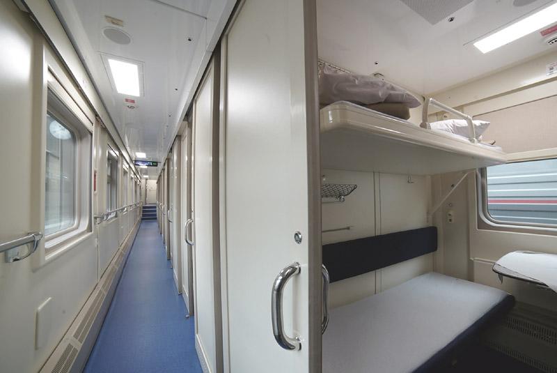 Фото купейного вагона поезда 28 Москва-Симферополь
