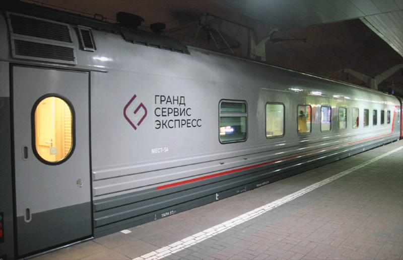 """Поезд 64 """"Таврия"""" Москва-Севастополь"""