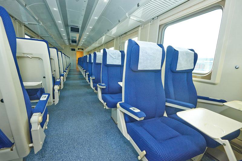 Фото вагона 2 класса в поезде Ярославль-Москва