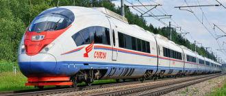 Поезд «Сапсан» Н.Новгород-Москва-Н.Новгород