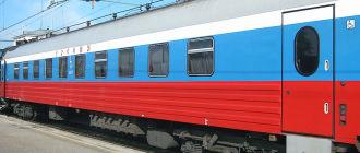 Поезд 1/2 «Россия» Владивосток — Москва — Владивосток
