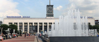 Финляндский железнодорожный вокзал Санкт-Петербурга
