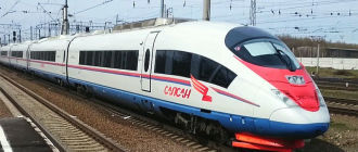 Поезд «Сапсан» Петербург-Москва-Петербург