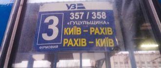 На Драгобрат и обратно поездом 357/358 Киев — Рахов — Киев «Гуцульщина»