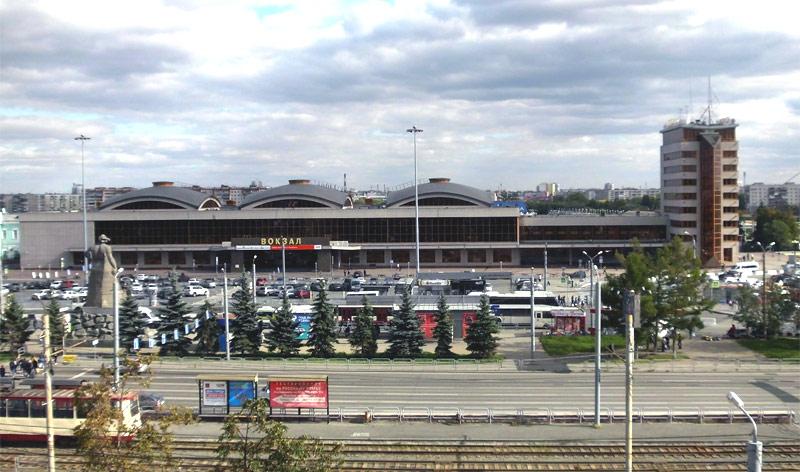 Железнодорожный вокзал Челябинск