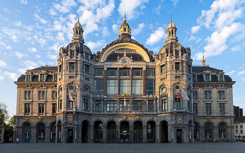 Железнодорожный вокзал Антверпен