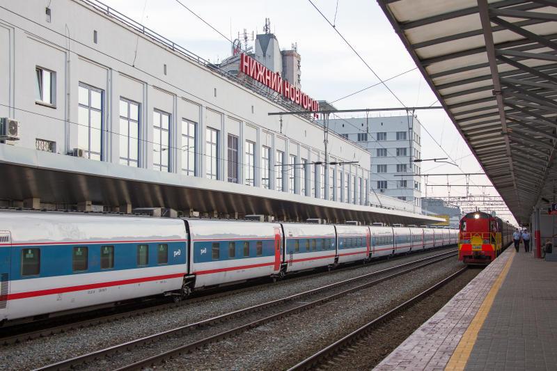 Московский железнодорожный вокзал Нижнего Новгорода