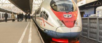 """Высокоскоростной поезд """"Сапсан"""" - обзор поездки"""