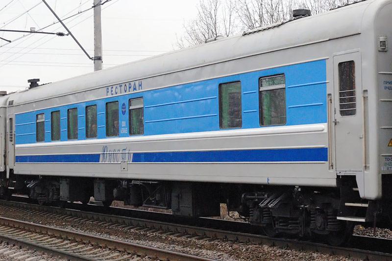 """Поезд 667 """"Юность"""" Хабаровск - Комсомольск-на-Амуре"""