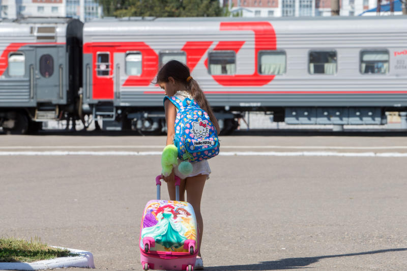 Правила проезда детей в поездах