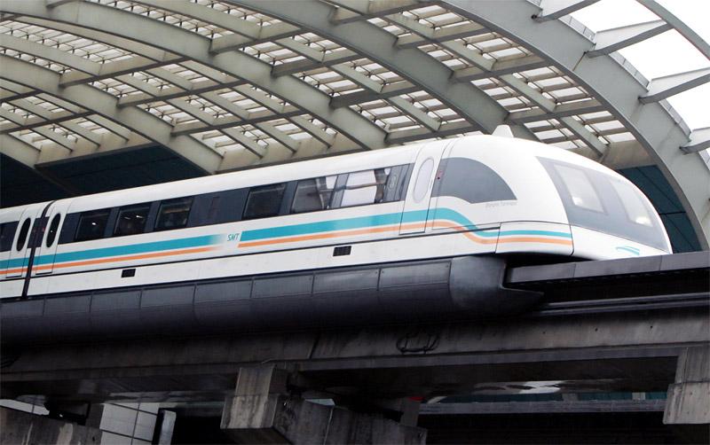 Поезд Маглев Шанхай